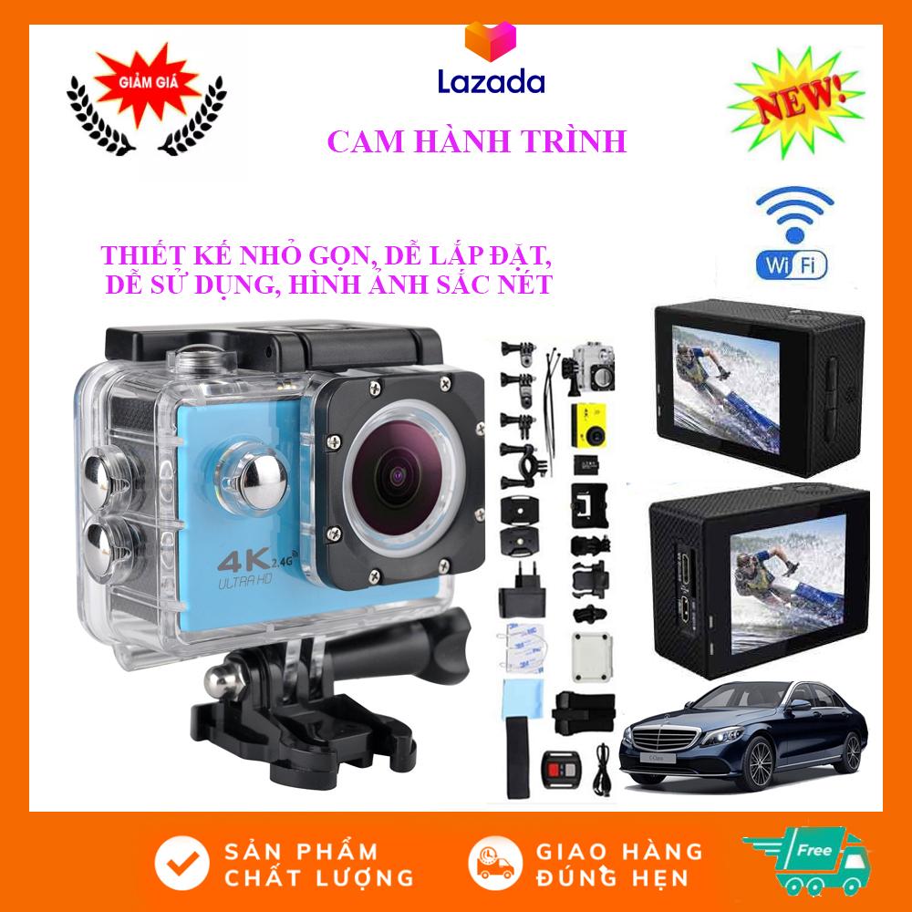 Máy Quay Thể Thao Ultra Hd 4K, Camera Hành Trình, Phượt 4K Ultra Hd, Camera  Hành