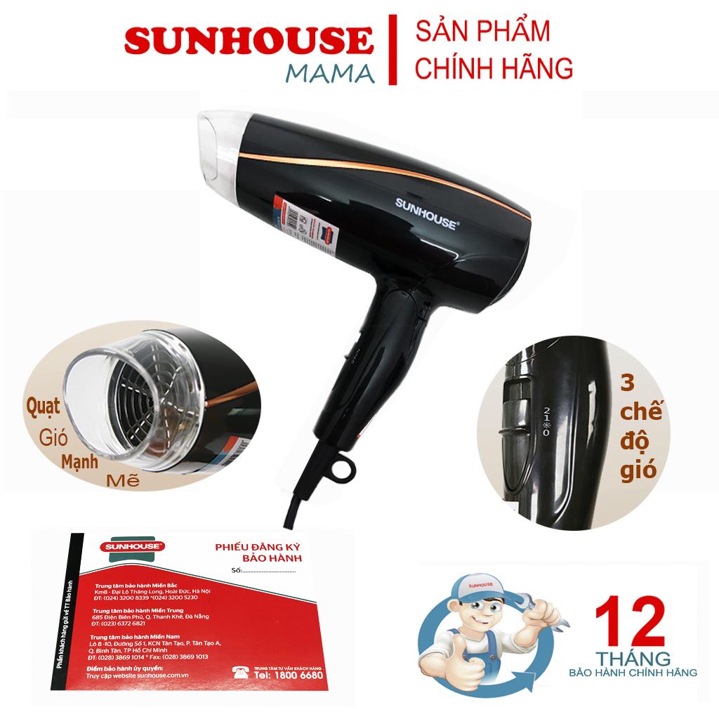 Máy sấy tóc sunhouse SHD2306 - Bảo hành 12 tháng