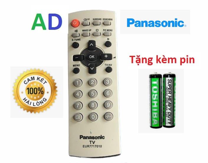 Điều Khiển TiVi panasonic CRT dùng cho các loại tivi Panasnonic đời cũ màn hình dầy - Tặng kèm pin chính hãng Remote Panasonic LCD cổ - Remote panasonic loại tivi cổ dầy cong ngày xưa 1