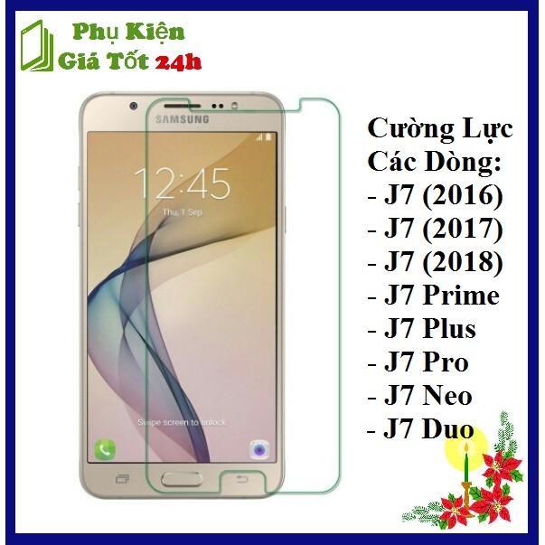 [HCM][Tặng Miếng Lau] Kính Cường Lực Cho Samsung J7 Prime / J7 2016 / J7 2017 / J7 2018 / J7 Pro / J7 Plus / J7 Duo / J7 Neo