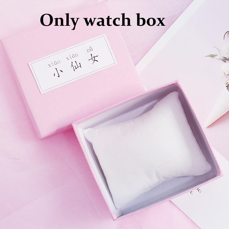 [Hot Bán] Eooshop Tiên hồng Gift Box trí Box Bracelet Box Xem Box Birthday Gift Box 2021 New 4