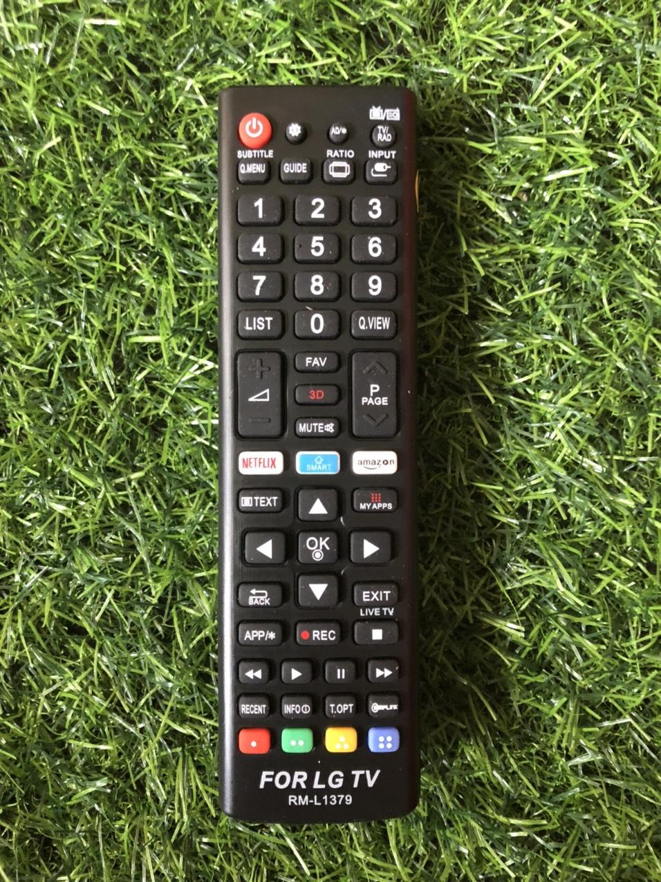 Điều khiển tivi LG RM-L1379 smart internet - tặng kèm pin - Remote LG RM-L1379 loại tốt thay thế tương thích hoàn toàn khiển zin theo máy 6
