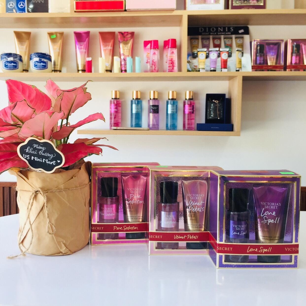 Bộ quà tặng Victoria Secret Gift Set Mist & Lotion - US MINIMART