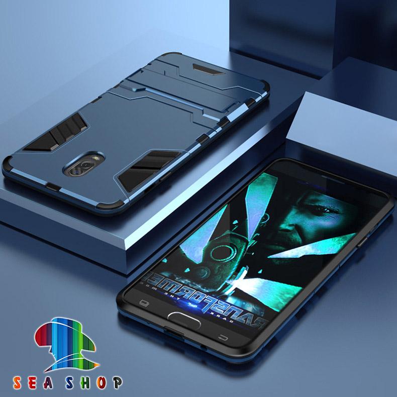 Ốp lưng Samsung J7 Plus / SM-J7310 iRon man chống sốc - Siêu bền / Ốp chống J7 Plus J7310 / Case J7+ - Seashop
