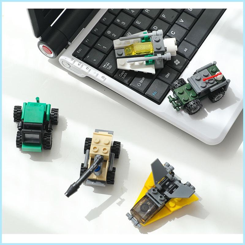 Combo đồ chơi trẻ em 3 xe ô tô xếp hình LEGO CITY từ 27 đến 32 chi tiết nhựa ABS cao cấp cho bé từ 4 tuổi trở lên phát triển trí tuệ và sáng tạo 4