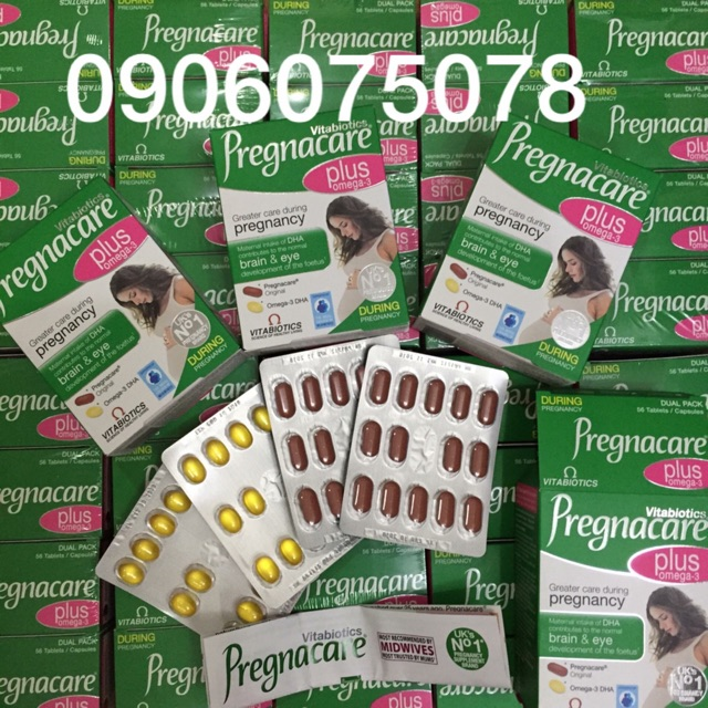 Vitamin Pregnacare Plus Hàng  Uk