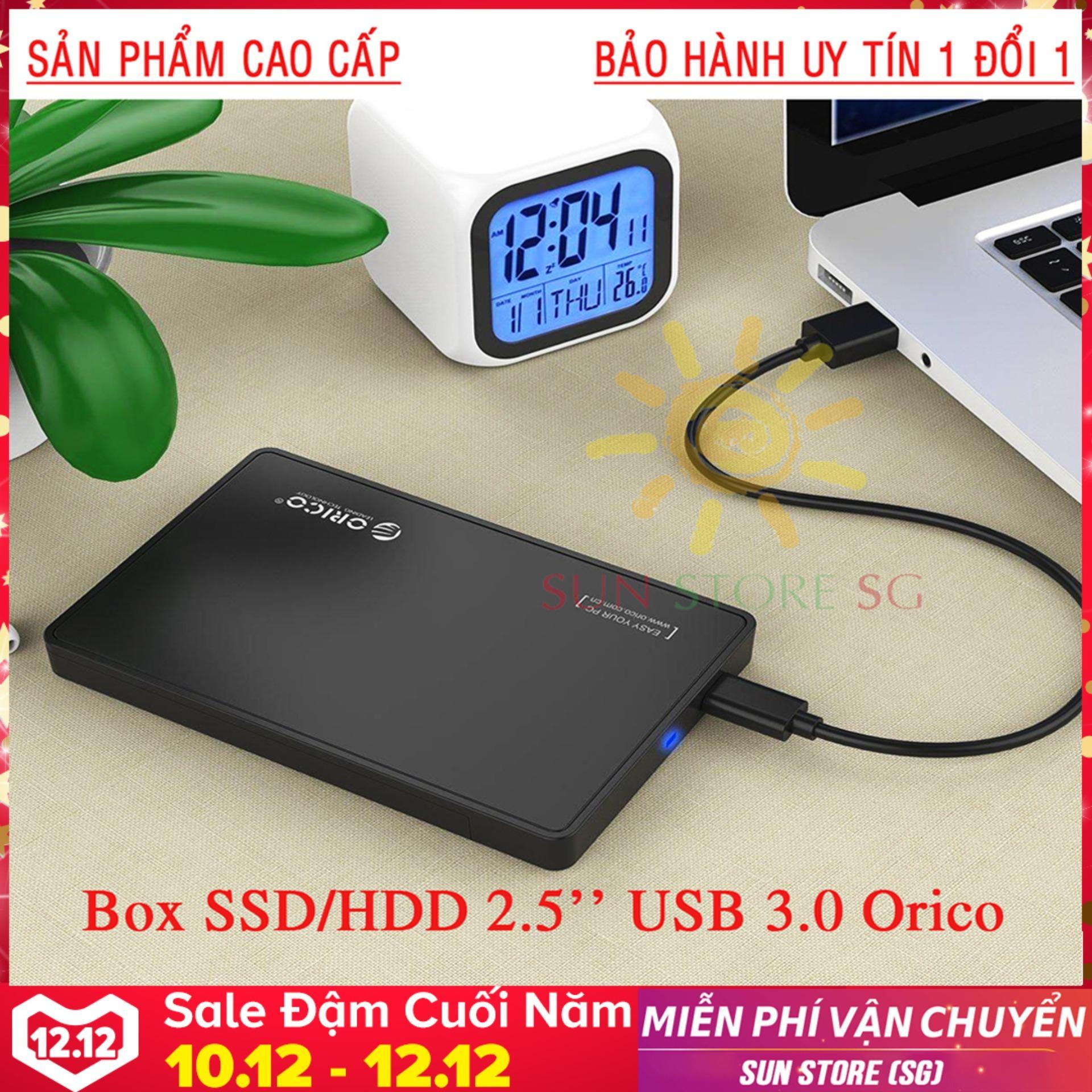 BOX ổ cứng di động  SSD & HDD 2.5″ USB 3.0 Orico Dòng Cao Cấp  Nhập khẩu, phân phối & bảo hành 1 đổi 1 bởi SUN STORE SG