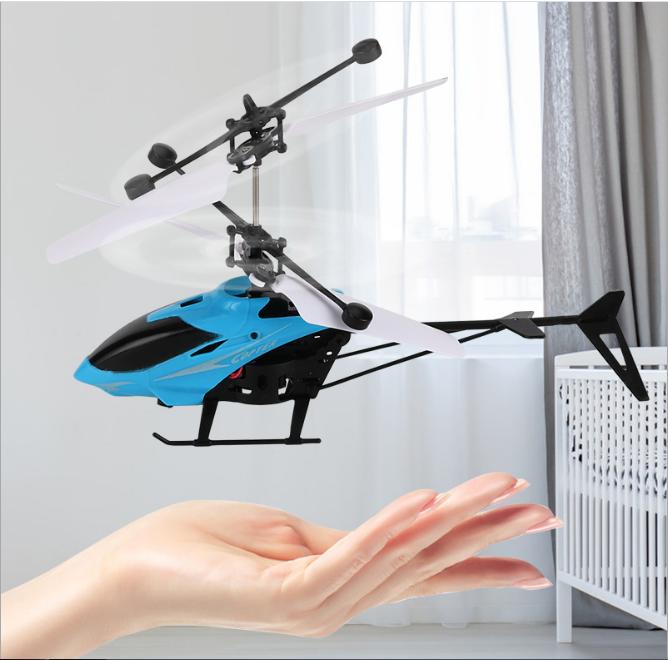 [CÓ VIDEO] Máy bay điều khiển từ xa, máy bay trực thăng cảm ứng AH001, giúp bé vui chơi vận động phát triển thể chất 7