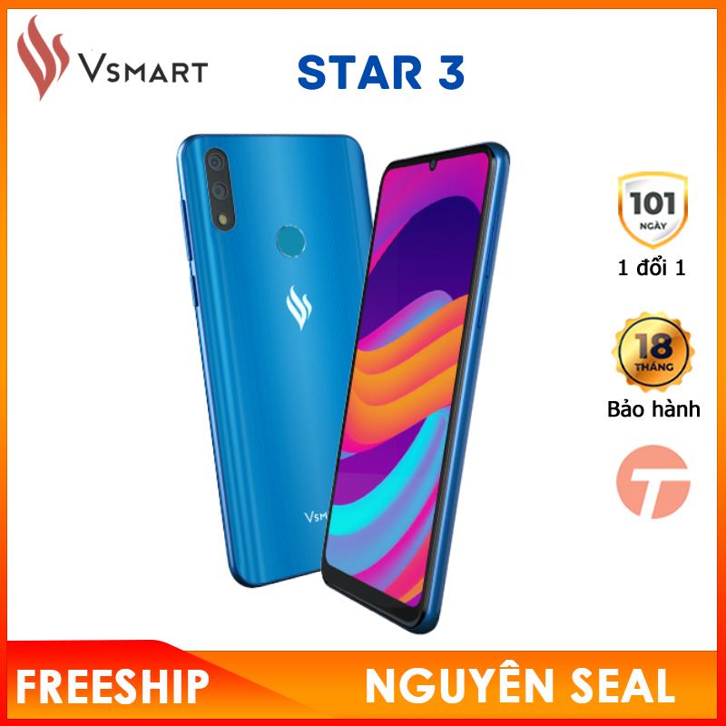 Hình ảnh [HOT] Điện thoại Vsmart Star 3 Ram 2gb|16gb - Chưa kích hoạt - Smartphone hiếm hoi dưới 2 triệu có Camera kép góc siêu rộng 120o, Chip Snapdragon mượt mà - Bảo hành 18 tháng tại Vsmart toàn quốc