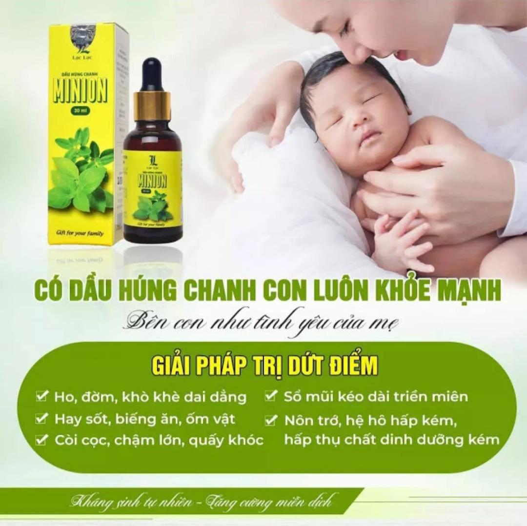 Dầu Húng Chanh Minion - Chính hãng - Mẫu mới nhất 3