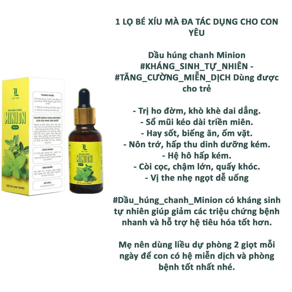 Dầu Húng Chanh Minion - Chính hãng - Mẫu mới nhất 4