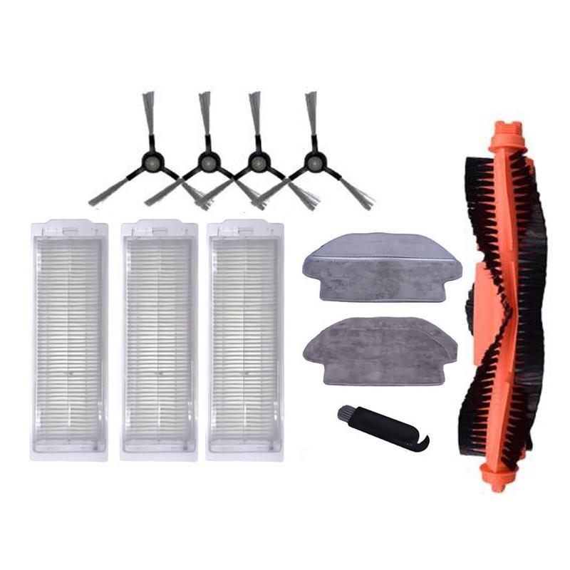 Side Brush Hepa Filter Roller Brush Mop Cloth for Xiaomi Mijia STYJ02YM