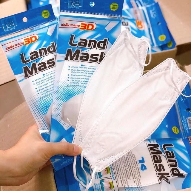 Khẩu trang 3D Land Mask (gói 6 cái)
