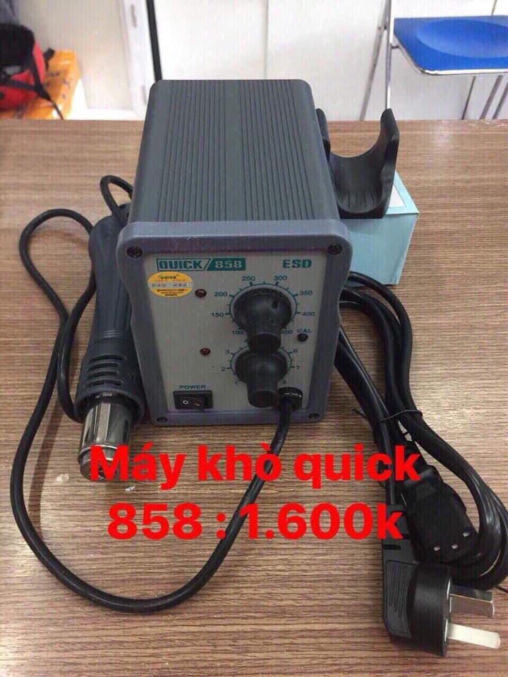 Mày Khò Chỉnh Nhiệt Quick 858