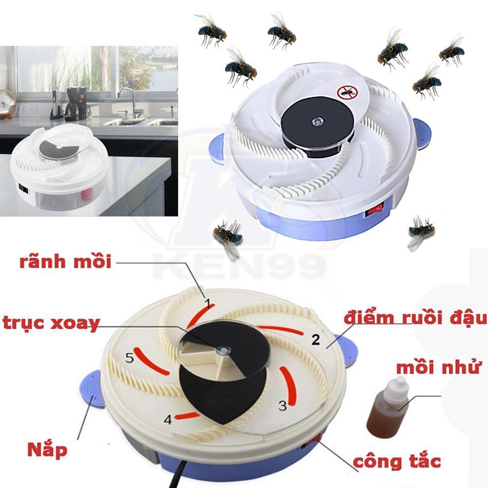 Hình ảnh Máy Diệt Côn Trùng, Máy Bắt Ruồi, Dụng cụ bắt côn trùng tại nhà, Diệt ruồi muỗi tại nhà dùng cách gì, Mua Ngay Máy Bat Ruoi YD-218 tiêu diệt ruồi nhanh chóng. Đơn giản, dễ sử dụng. Bảo hành uy tín tại BunnyShop.