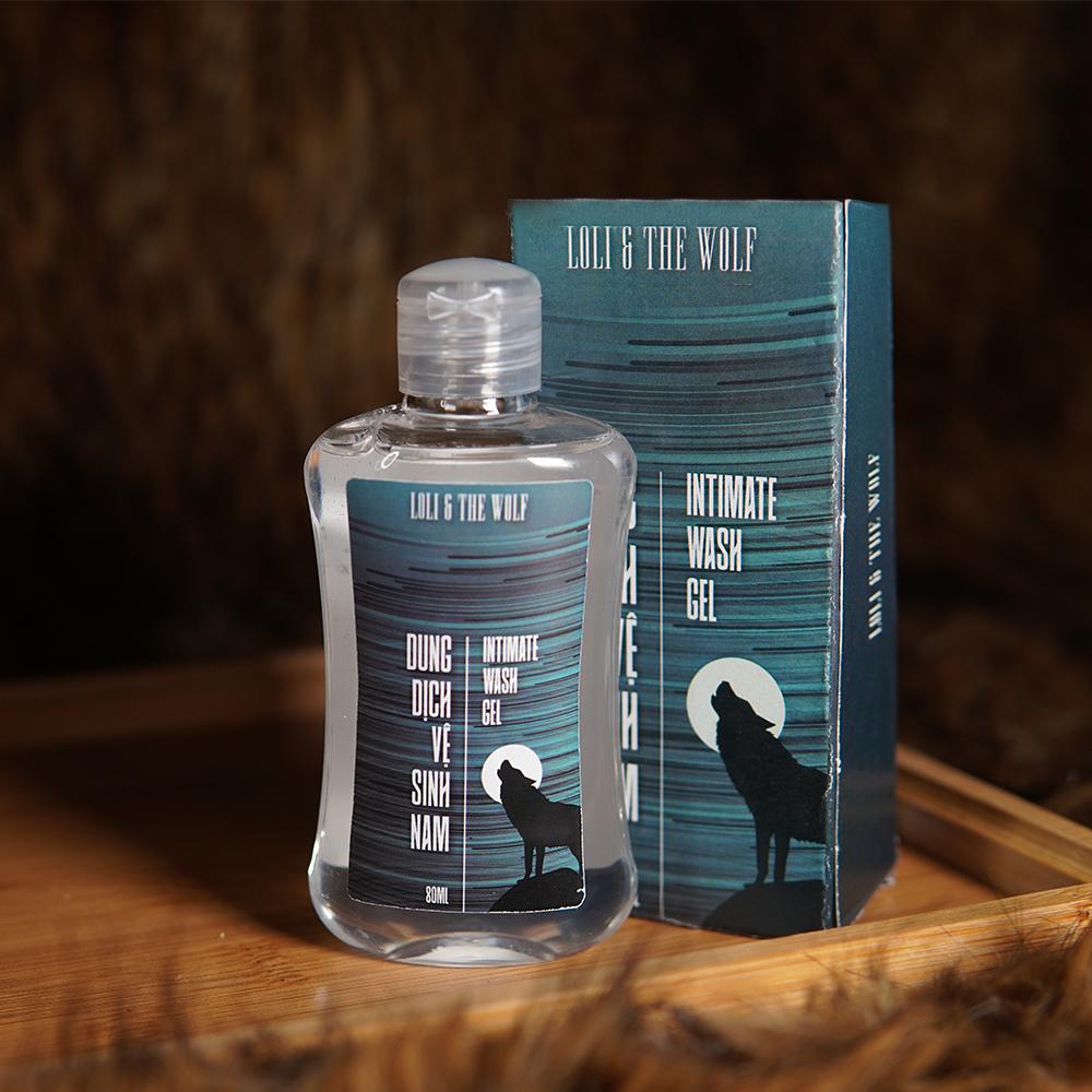 Dung dịch vệ sinh nam dạng gel chai 80ml - LOLI & THE WOLF