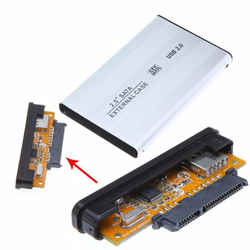 Hộp đựng ổ cứng 2.5 inch SATA vỏ nhôm