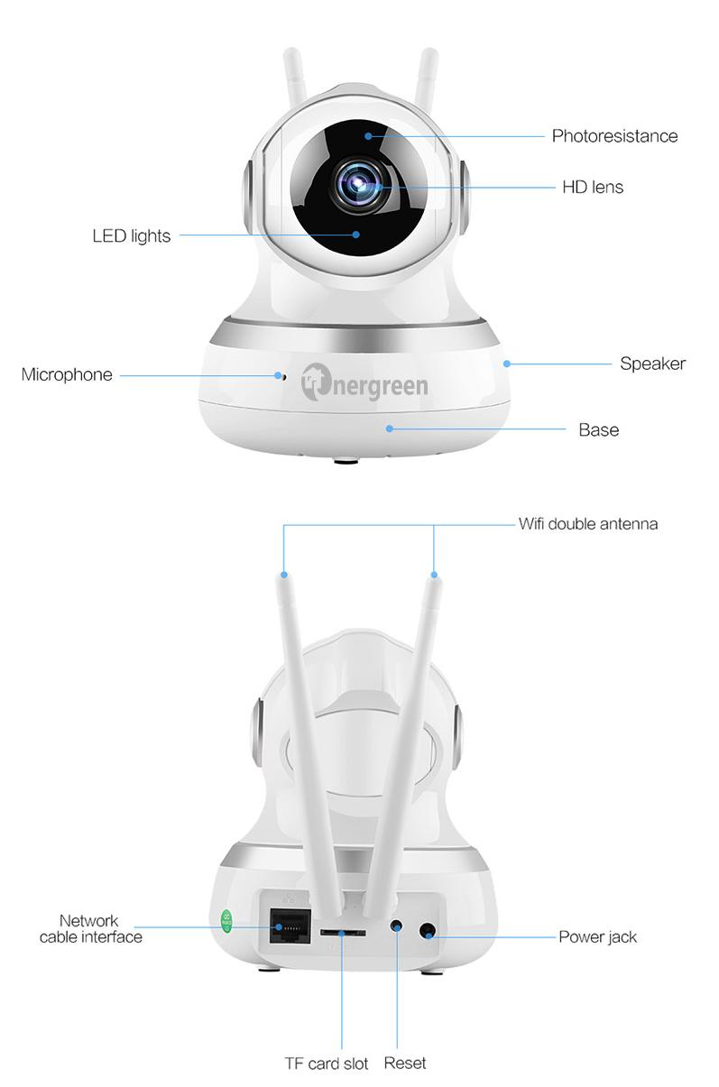 Camera Yoosee 3 Râu VS103 - Ảnh 2