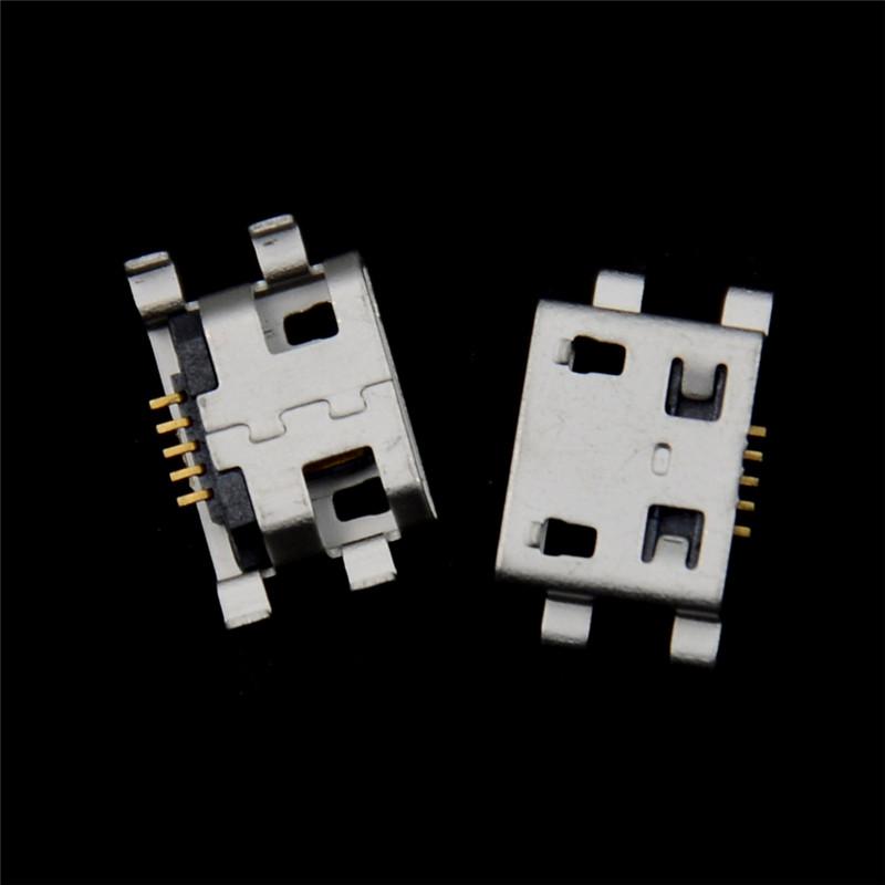 Shinning Days 20pcs Micro USB 5pin B Type Female Connector Jack Charging Socket
