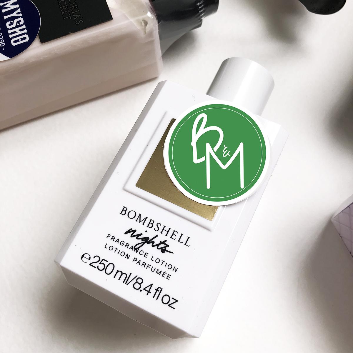 250ml  Sữa dưỡng thể Victoria's Secret Bombshell Nights Fragrance Lotion