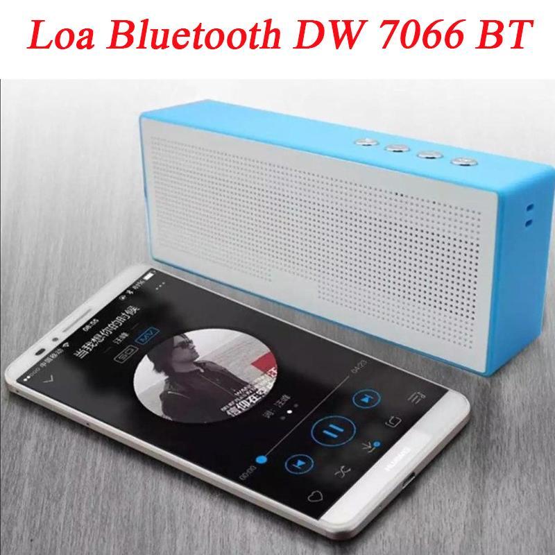 Loa Bluetooth DW 7066 BT-Thiết Kế Nhỏ Gọn, Có Tính Di Động Cao-Chất Liệu Cao Cấp-Chống Trầy Xước, Chống Va Đập Tốt-Âm Thang Trong Trẻo-Bảo Hành 12 Tháng Bởi SMART BUY