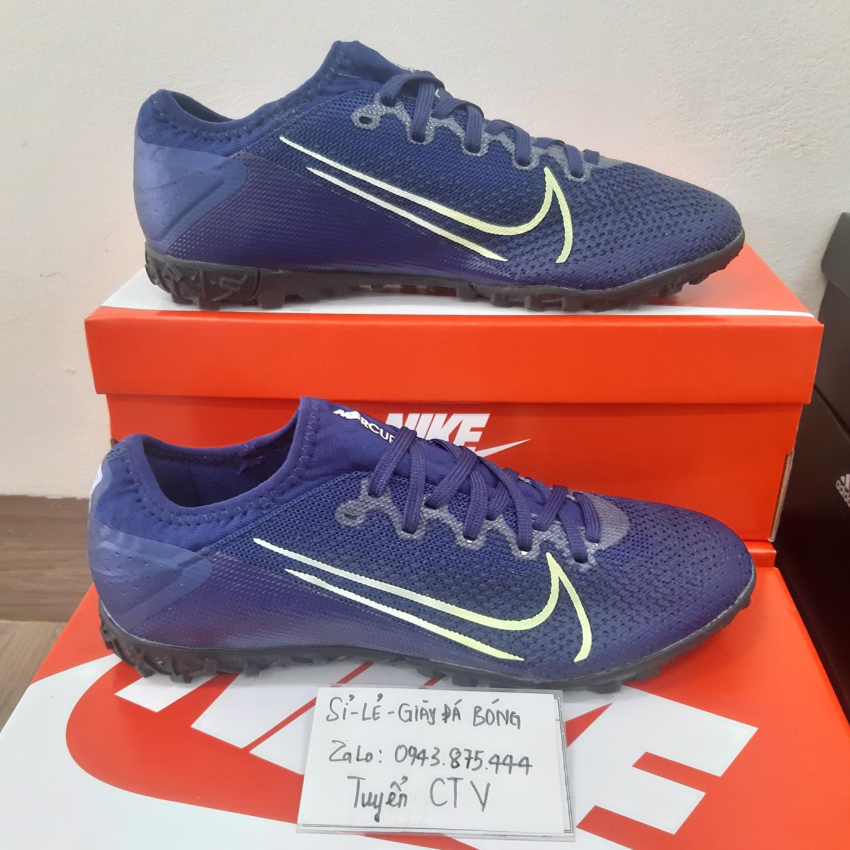 Giày đá bóng  Vapor 13 Pro TF xanh đậm