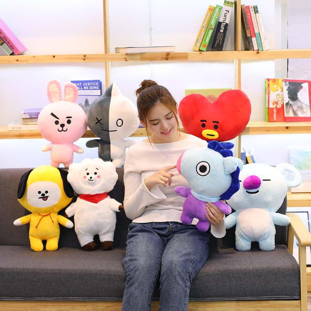 PIT ORPHAN28AN5 Cute COOKY K-pop Army Fans BTS Plush Doll BT21 Christmas Stuffed Toy Bangtan Boys