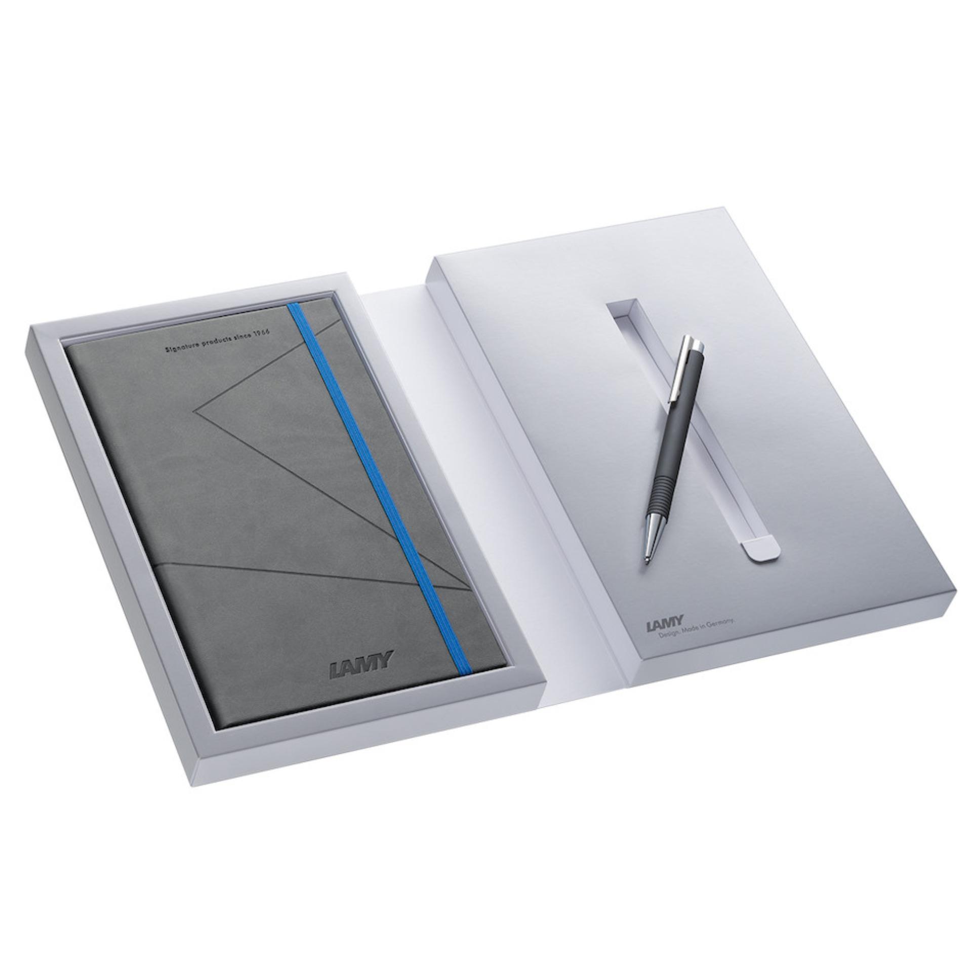 Bộ quà tặng cao cấp LAMY Sổ tay + Bút bi (Phiên bản giới hạn) - Hãng phân phối chính thức