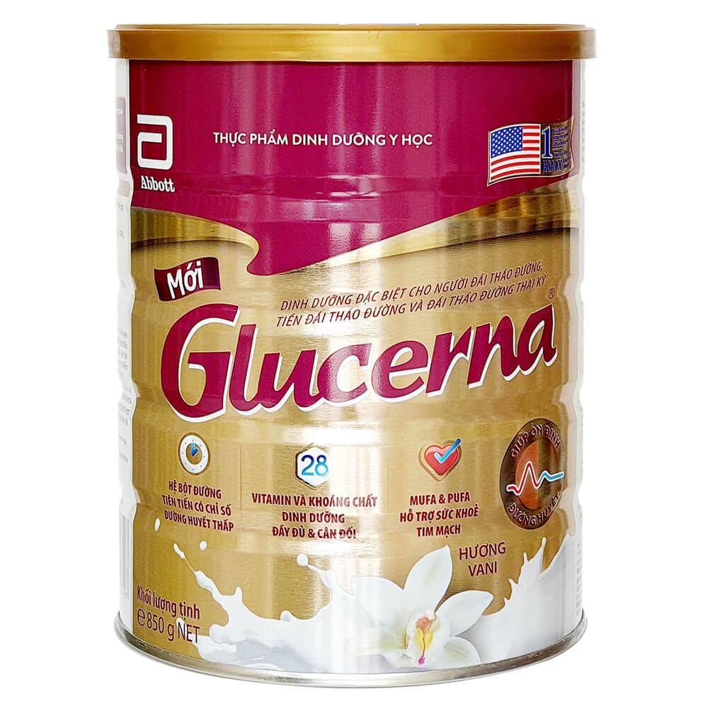Sữa bột Glucerna 850g date mới