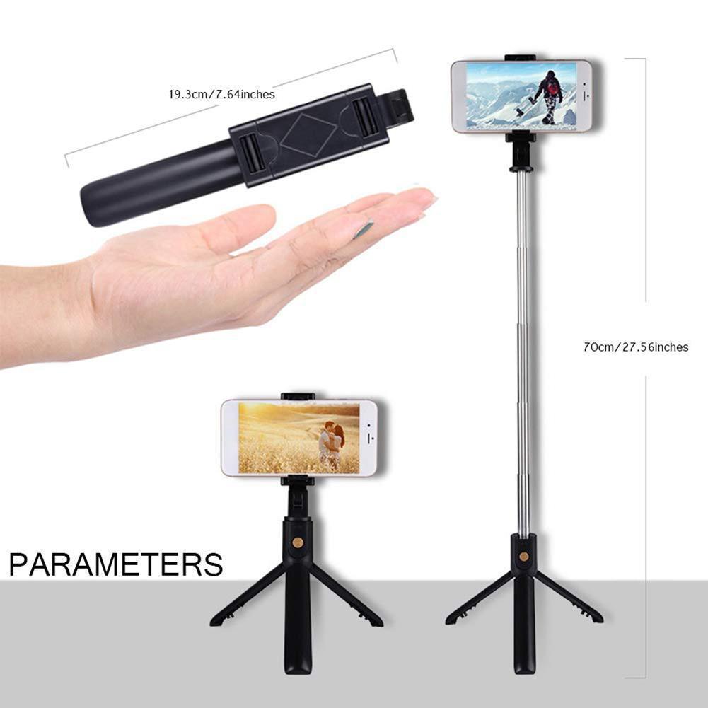 Cách Sử Dụng Gậy Selfie Tripod, Gậy Selfie Xiaomi, Gậy Selfie Để Bàn, Gậy Selfie Cho iPhone, Gậy Chụp Hình Tripod K07 + Nút Remote Bluetooth - Kẹp Điện Thoại , Chân Đế Có Thể Mở Rộng 3 Chân Và Có Thể Đặt Đứng Giúp Việc Chụp Ảnh Dễ Dàng Hơn