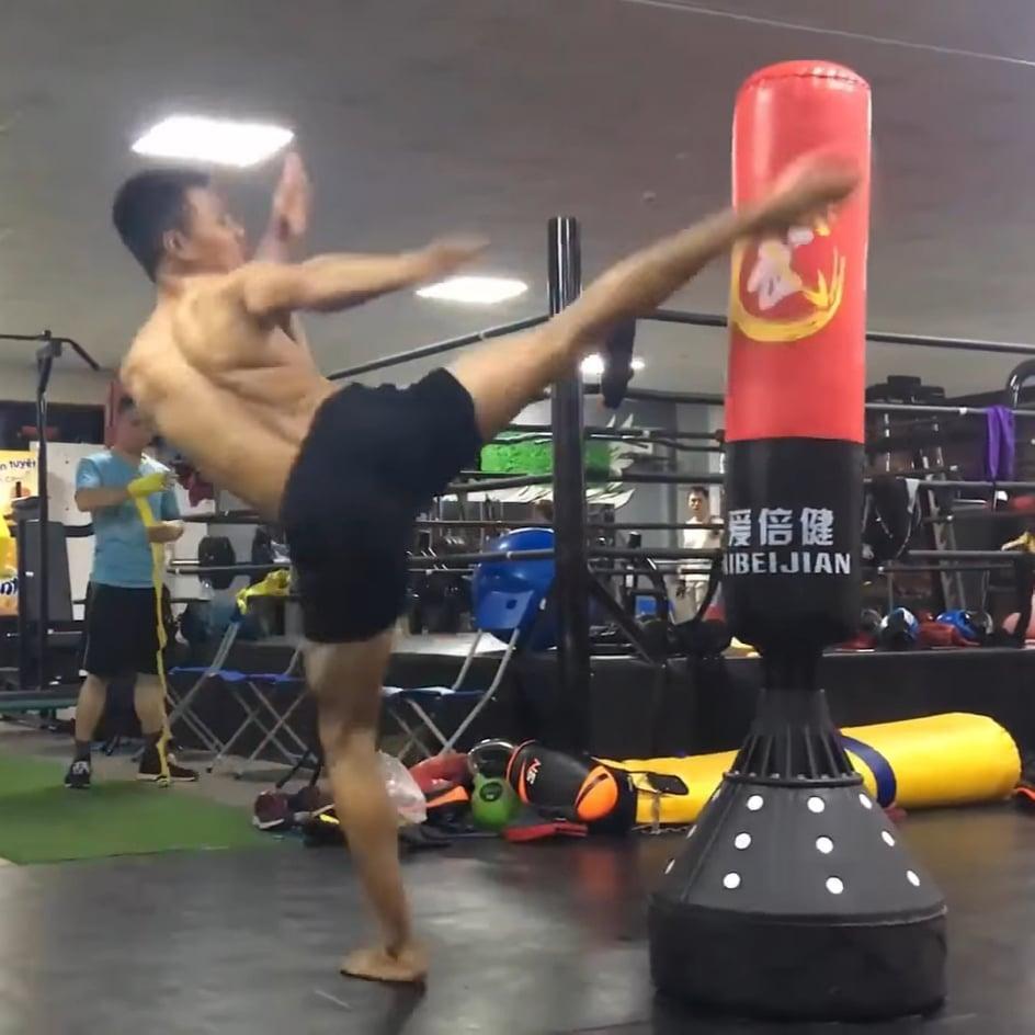 Bao Cát Boxing Tự Đứng tập đấm bốc - Ảnh 7