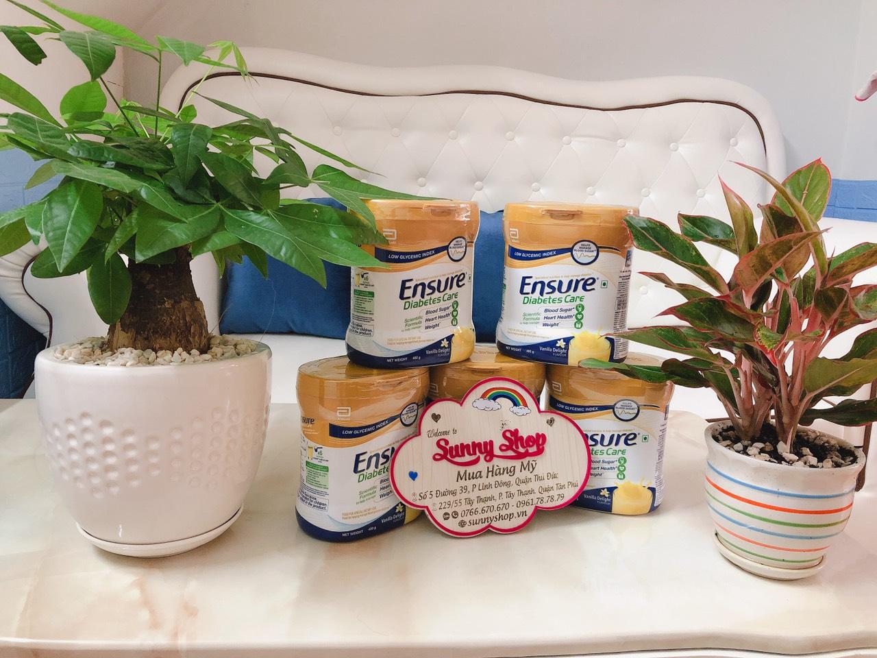 Sữa Ensure dành cho người tiểu đường - Sữa dành cho người lớn tuổi