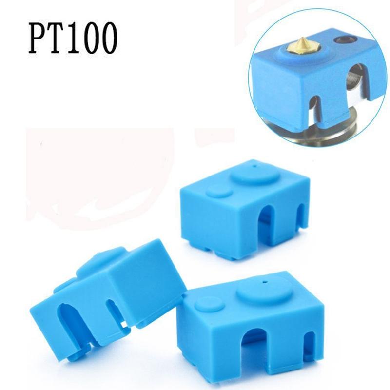 Cover PT100 Silicone Socks PT100 Hot End For 3D Printer Part Insulation Case