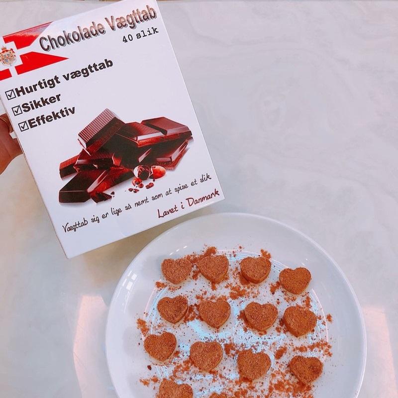 Kẹo socola giảm cân chính hãng Đan Mạch Chokolade Vaegttab Slimming care( 20 viên ) 3