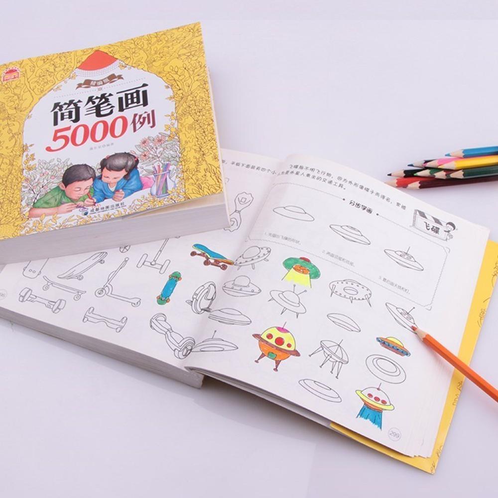 Sách tô màu loại Dày 360 trang - 5000 hình vẽ KamiToy Giấy chuyên ...