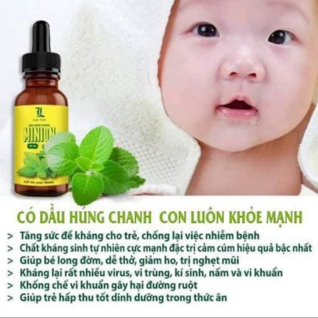 Dầu Húng Chanh Minion - Chính hãng - Mẫu mới nhất 2