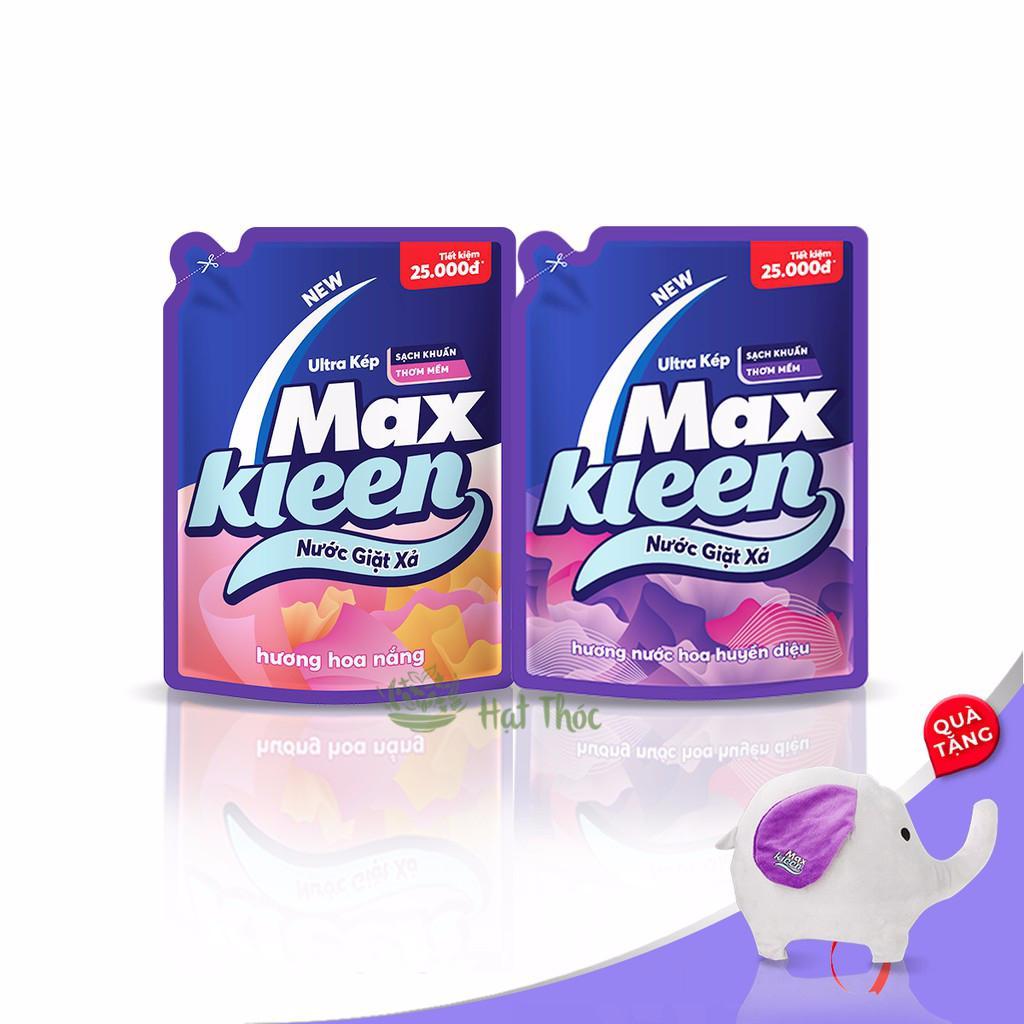 Max Kleen túi 2,4Kg | Nước giặt thích hợp dòng máy giặt cửa ngang & cửa đứng | Giá Siêu Cạnh Tranh