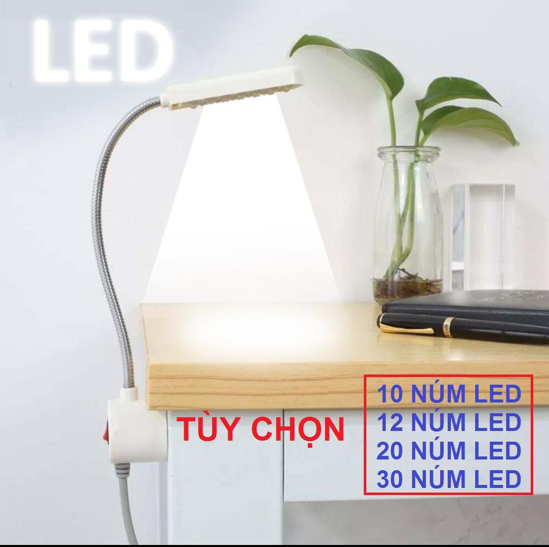 Đèn led trợ sáng máy may - đèn led đọc sách - đèn bàn học làm việc chống cận