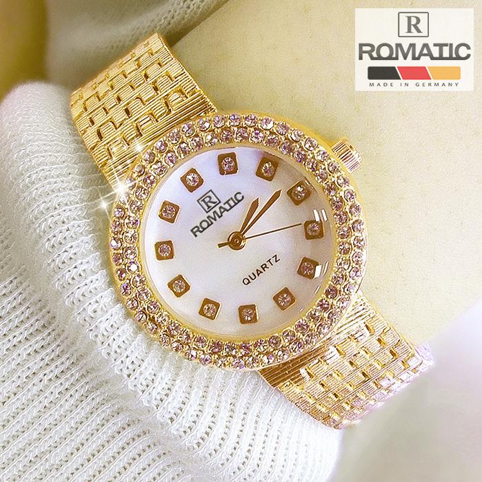 Đồng hồ nữ ROMATIC Mặt Xà Cừ Nhỏ Xinh Sang Trọng - Máy Nhật cao cấp - Tặng Kèm Pin ĐH Dự Phòng 1