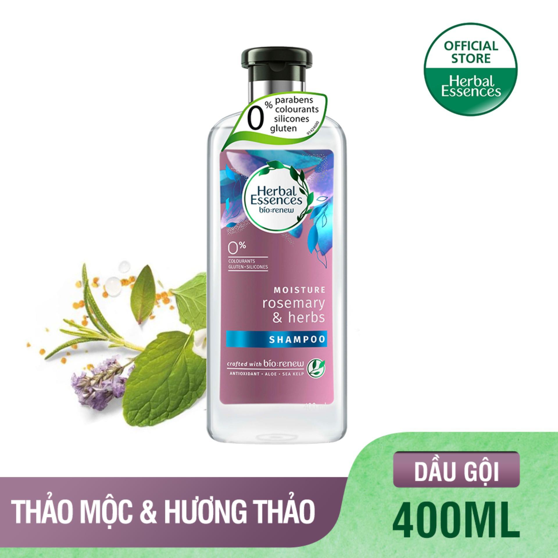 [HERBAL ESSENCES] Dầu Gội Herbal Essences Thảo Mộc & Hương Thảo chai 400ml