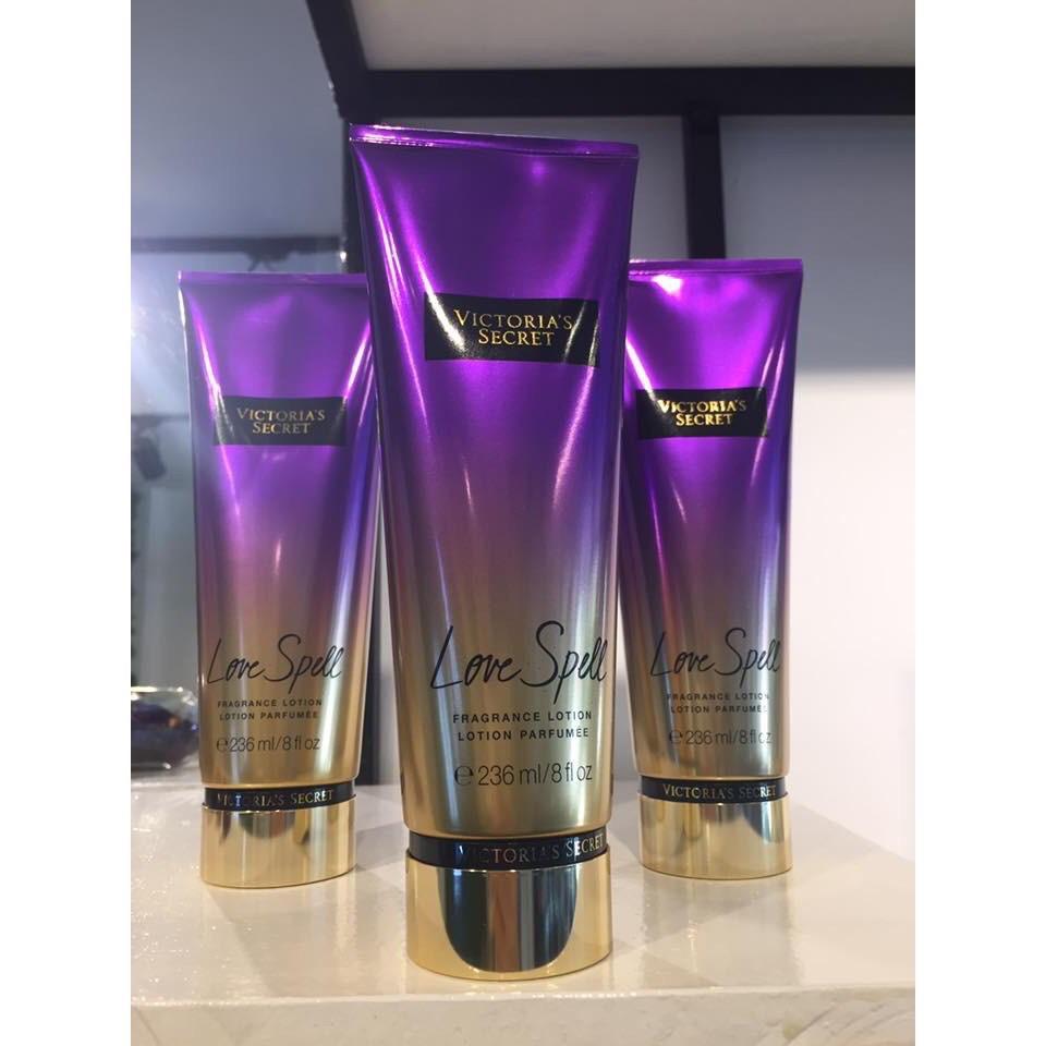 Kem Dưỡng Thể Nước Hoa Victoria's Secret Love Spell Fragrance Lotion 236ml