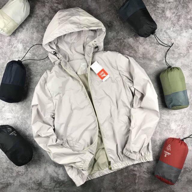 [Tặng ngay 1 đôi tất khử mùi] Áo Khoác gió nam nữ 2 lớp chống nắng - chống nước kèm túi poket - vải dù nhẹ, giữ ấm hiệu quả - có nhiều màu - Thời Trang Azila - G01