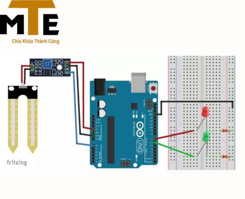 Mạch cảm biến độ ẩm đất – Module arduino