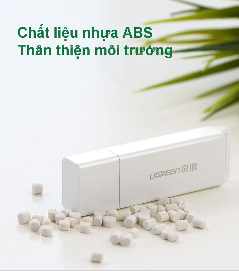 Đầu đọc thẻ nhớ USB 3.0 hỗ trợ thẻ TF/SD UGREEN CM104