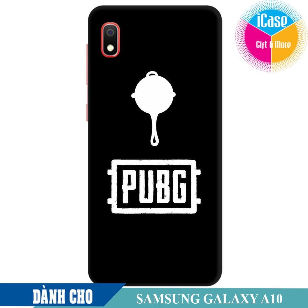Ốp lưng nhựa dẻo dành cho Samsung Galaxy A10 in hình Game PUBG