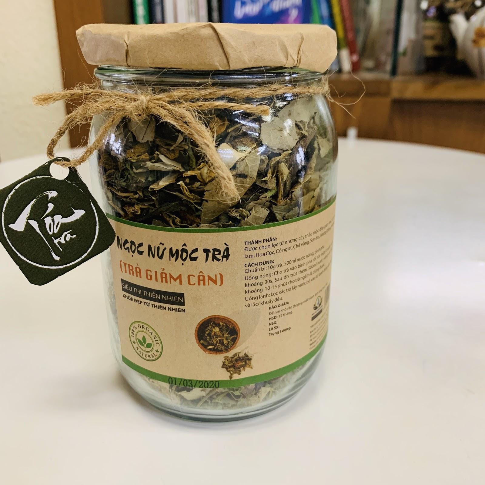 Tỏa Trà - Trà giảm cân hạ mỡ máu Ngọc Nữ Mộc Trà - trà giảm cân