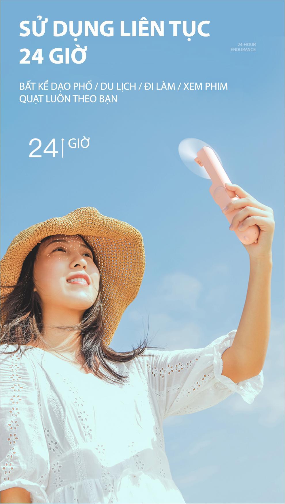 f9cf92d319c1a21930d5ec19d46053f4 - Xiaomi Bear Mini Fan cao thủ về pin trong làng quạt cầm tay