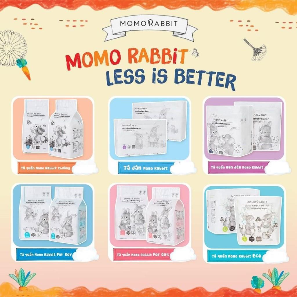 Bỉm Momo Rabbit nội địa Hàn Quốc size S50/M44/L40/XL36/XXL22/XXXL18