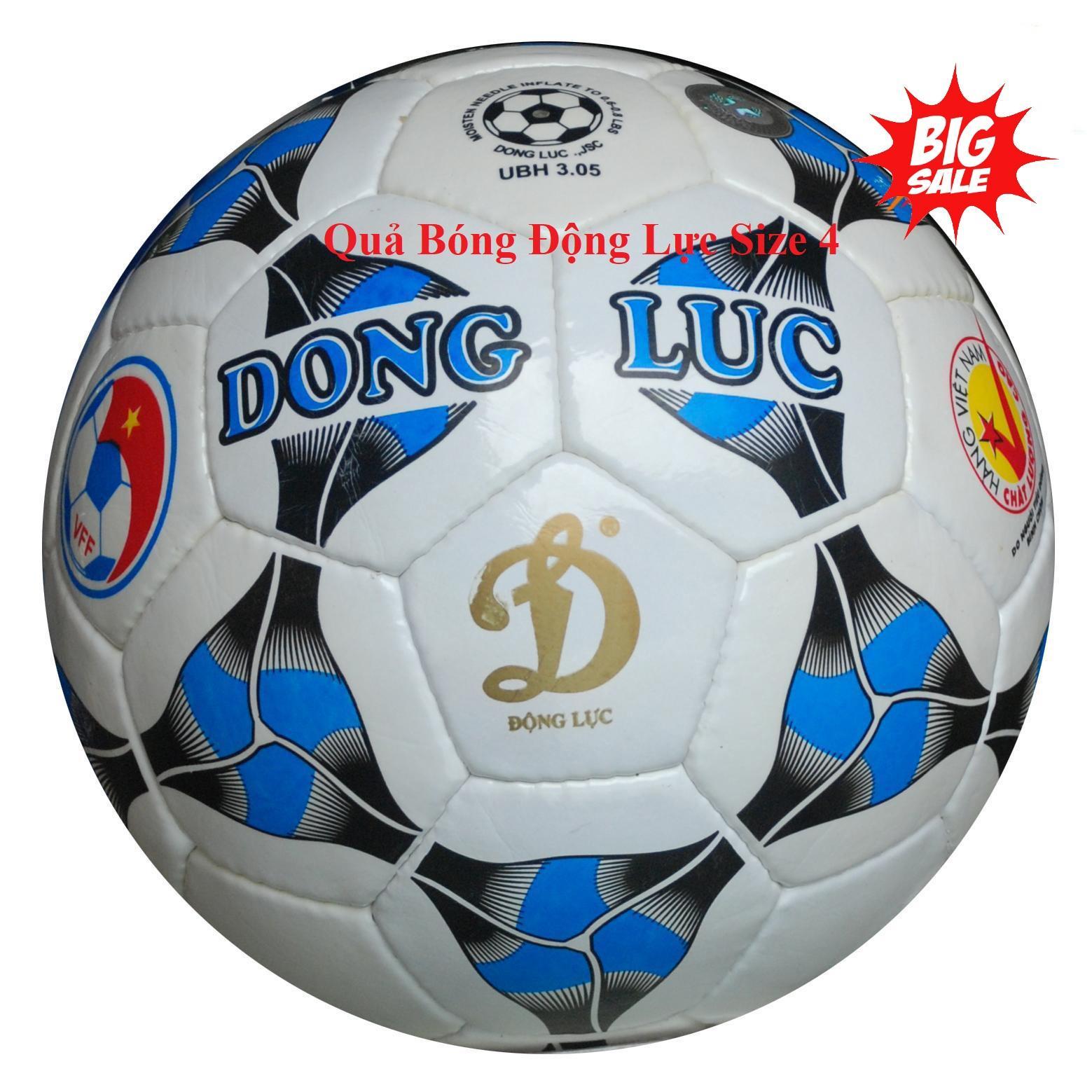 Banh dong luc so 4 - Quả bóng đá động lực UCV cao cấp đường may sắc nét, dai bền, đá êm chân, độ nảy ổn định và thi đấu được trên mọi mặt sân, bảo hành uy tín 1 đổi 1 bởi KINGSTORE