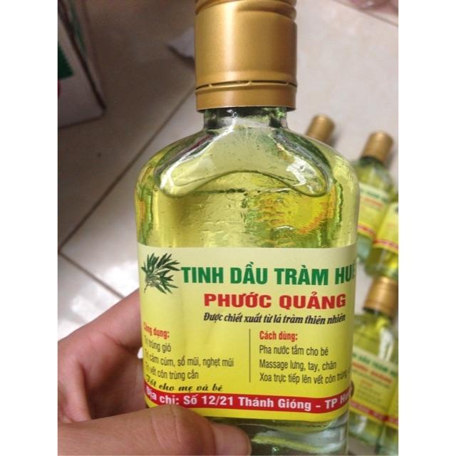 Tinh dầu tràm Phước Quảng 100ml. ( có giấy kiểm nghiệm)